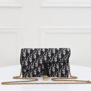 Dior Oblique wallet On Cha438996